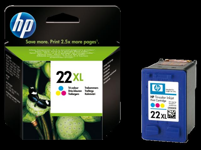 Inkcartridge hp c9352ce 22xl kleur hc