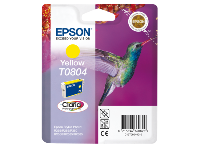 Inkcartridge epson t080440 geel