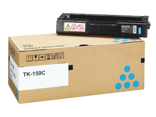 Toner kyocera tk-150c blauw