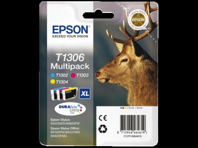 Inkcartridge epson t130640 3 kleurenset