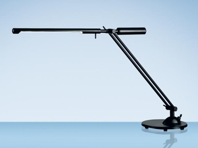 Bureaulamp hansa met spaarlamp sydney zwart