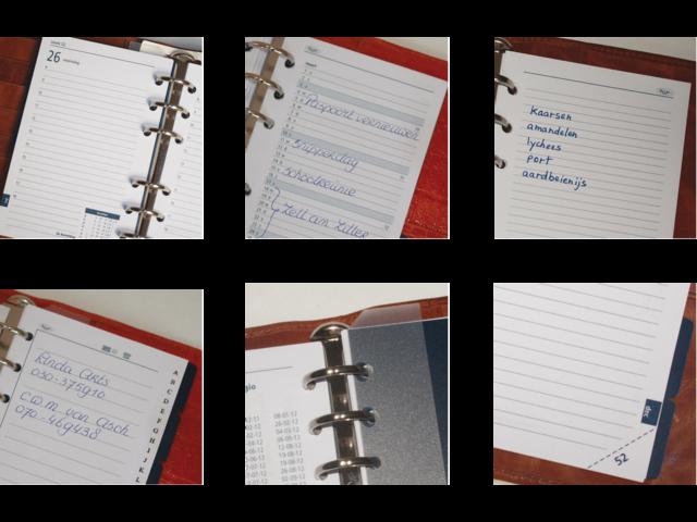 Agendavulling 2017 kalpa a5 7dag/2pagina