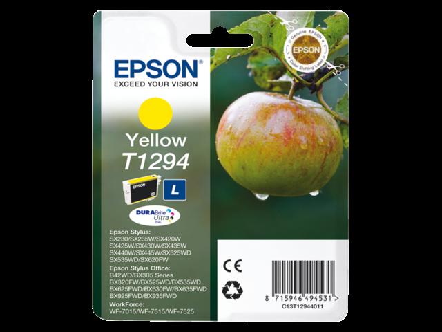 Inkcartridge epson t129440 geel