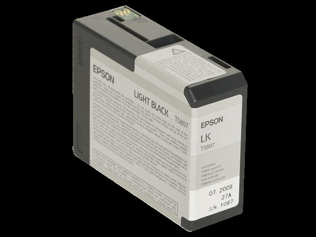 Inkcartridge epson t580700 lichtzwart