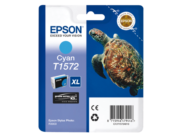 Inkcartridge epson t157240 blauw