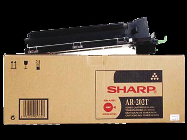 Tonercartridge sharp ar-202t zwart