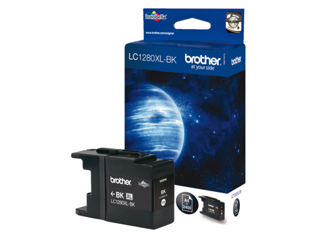 Inkcartridge brother lc-1280xlbk zwart hc