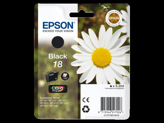 Inkcartridge epson t180140 zwart