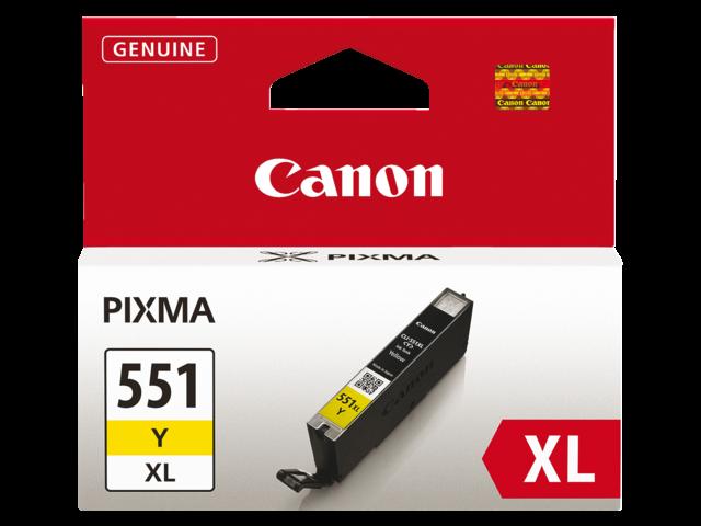 Inkcartridge canon cli-551yxl geel hc