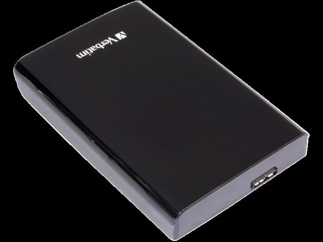 Harddisk verbatim store'n'go 500gb 2.5inch usb 3.0 zwart