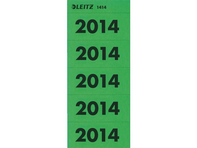 Rugetiket leitz jaaretiket 2014 groen