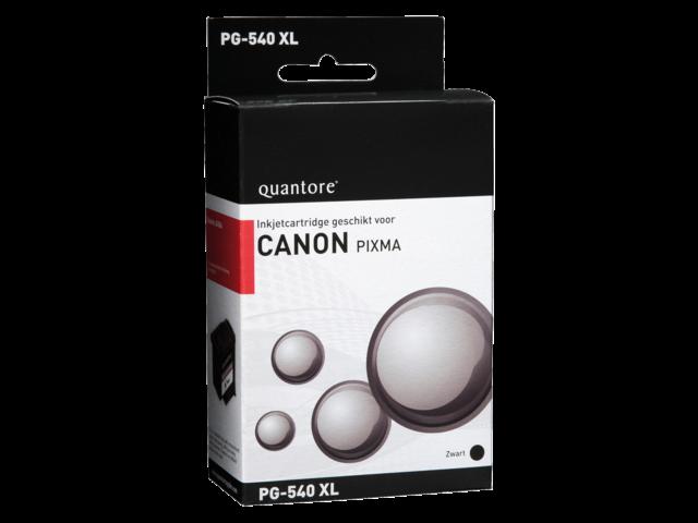Inkcartridge quantore canon pg-540xl zwart hc