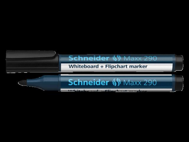 VILTSTIFT SCHNEIDER 290 WHITEBOARD ROND 2-3MM ZWART
