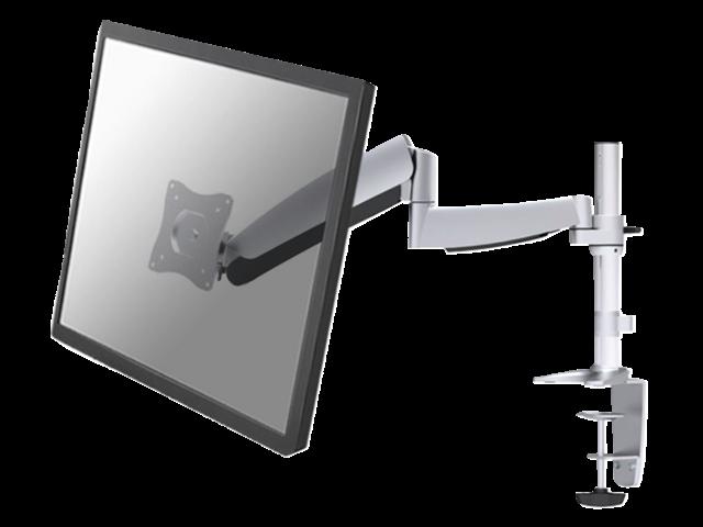 "Flatscreenarm newstar d950 voor scherm t/m 30"" zilvergrijs"
