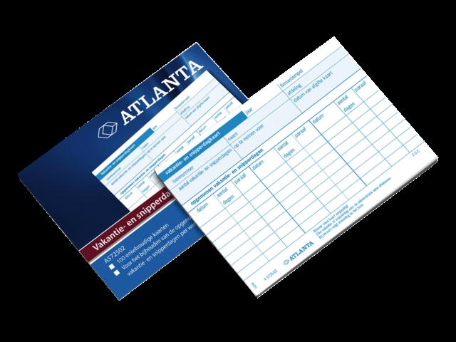 Vakantie/snipperdagkaart atlanta a5725-02 103x147mm 100stuks