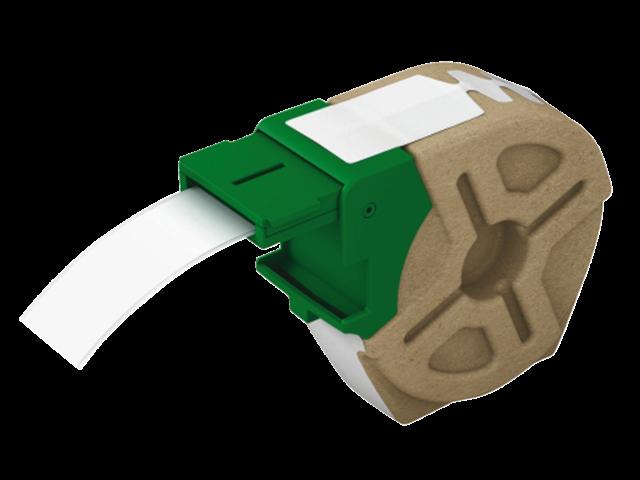 Etiket leitz icon labelprint papier 25mmx22m wit zelfklevend