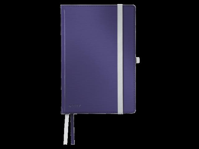 Notitieboek leitz style harde kaft a5 titaniumblauw