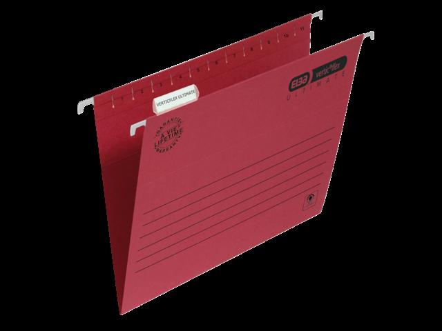 Hangmap elba verticflex folio v-bodem rood