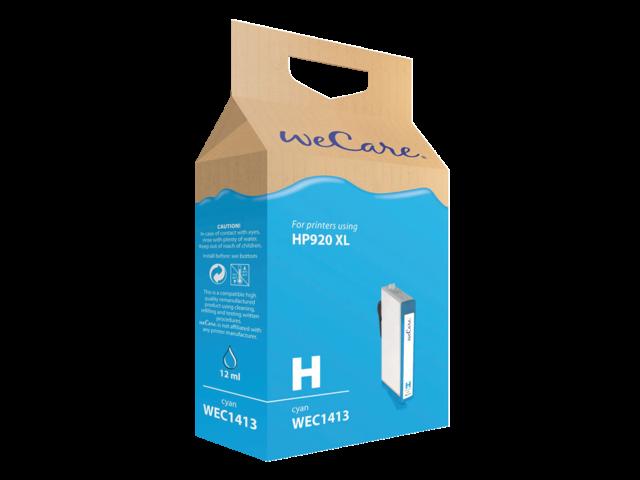 Inkcartridge wecare hp cd972ae 920xl blauw hc
