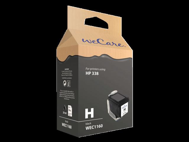 Inkcartridge wecare hp c8765ee 338 zwart