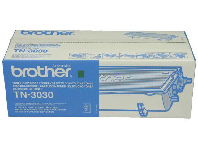 Tonercartridge brother tn-3030 zwart hc