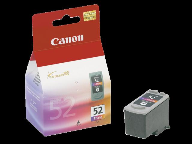Inkcartridge canon cl-52 foto kleur