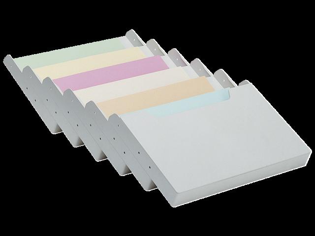 Folderhouder multiform wand a4 dwars grijs