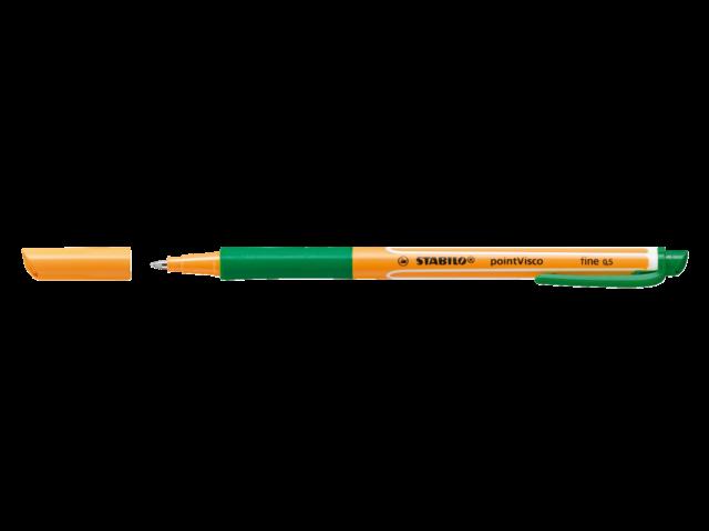 Rollerpen stabilo pointvisco groen 0.5mm