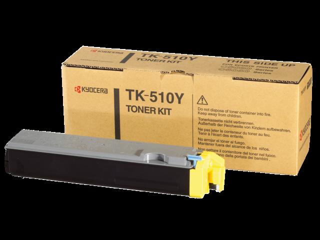 Toner kyocera tk-510y geel