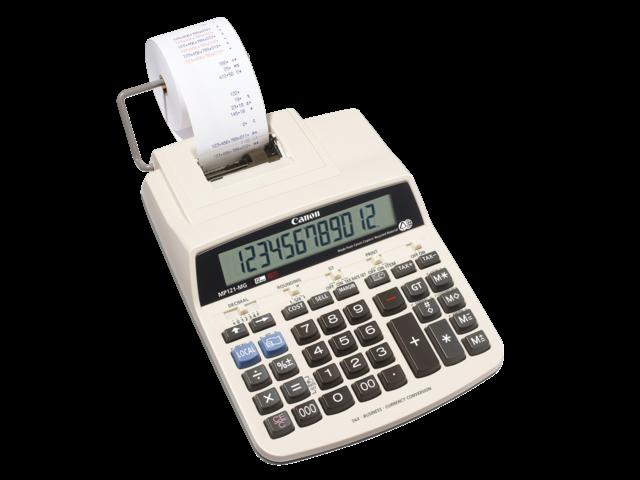 Rekenmachine canon mp121-mg