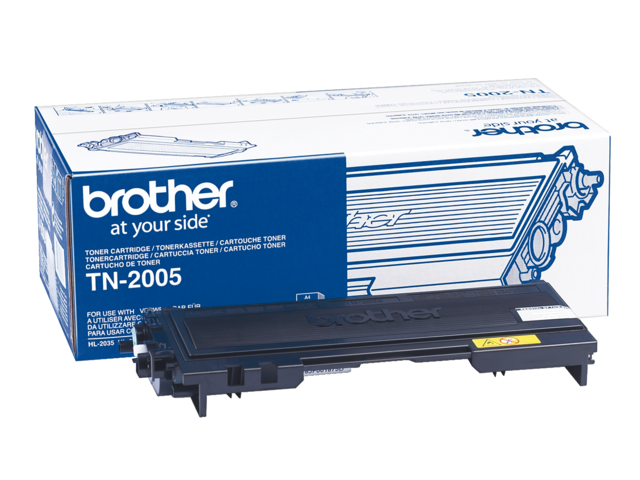 Tonercartridge brother tn-2005 zwart