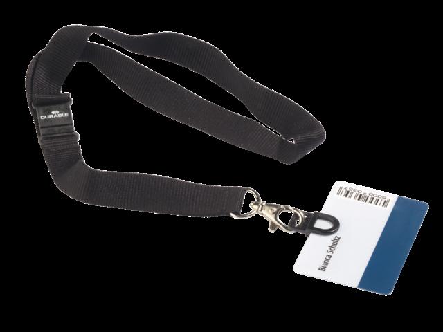 TEXTIELKOORD DURABLE MET CARD FIX 8187