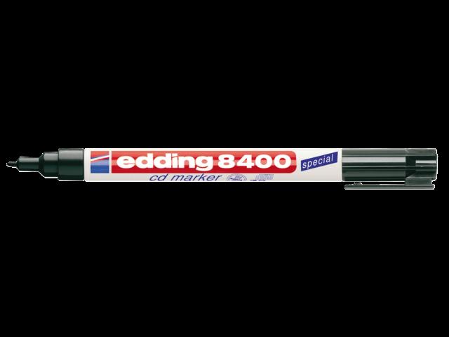 CD MARKER EDDING 8400 ROND 0.5-1MM ZWART