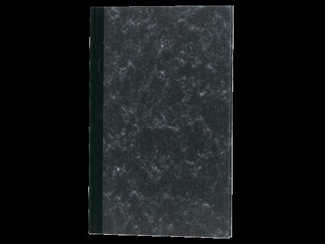 Breedfolio 192blz met twee geldkolommen zwart