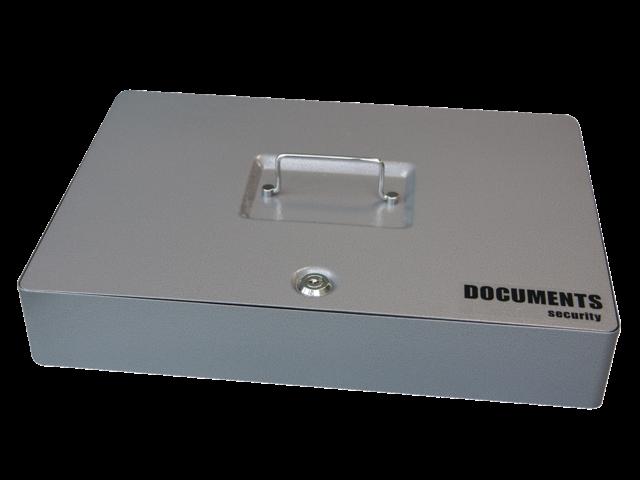 Documentenkist 415x295x72mm antraciet