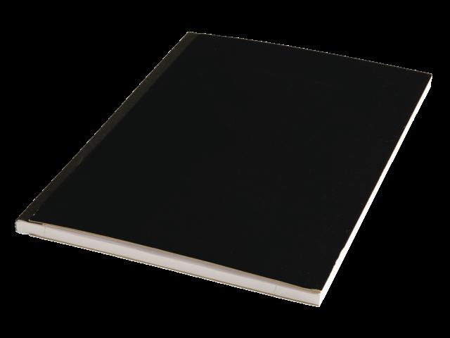 Schrift met harde kaft a4 80vel gelinieerd assorti