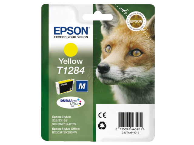 Inkcartridge epson t128440 geel