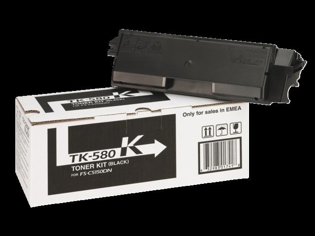 Toner kyocera tk-580k zwart