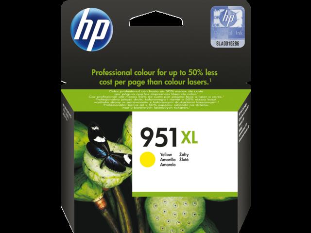 Inkcartridge hp cn048ae 951xl geel hc