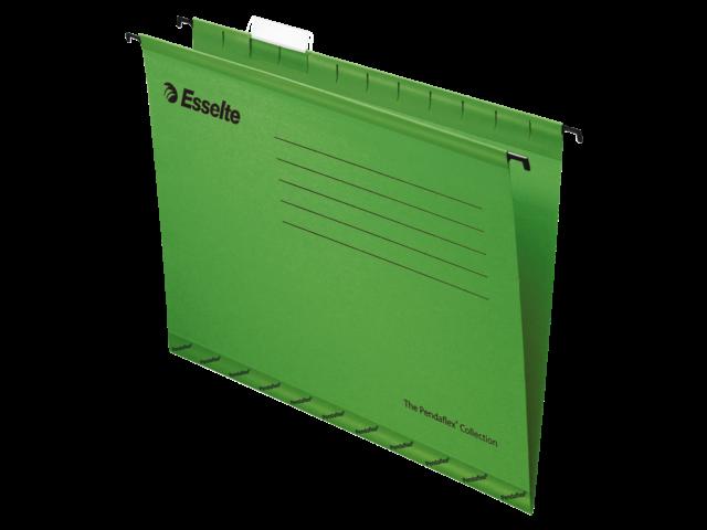 Hangmap pendaflex folio v-bodem groen