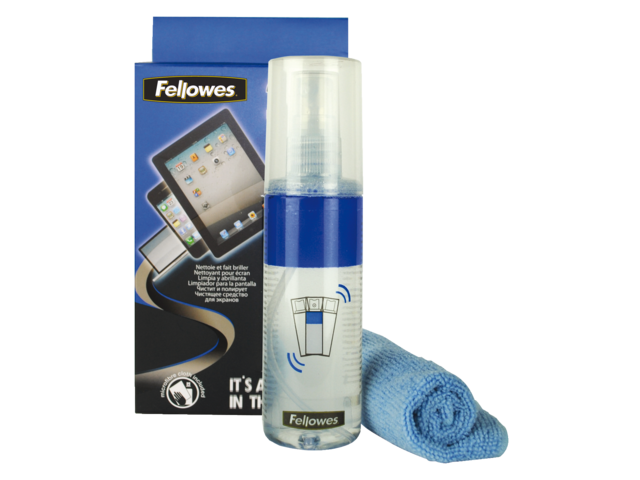 Reinigingsspray en doekjes fellowes 2-in-1 125ml