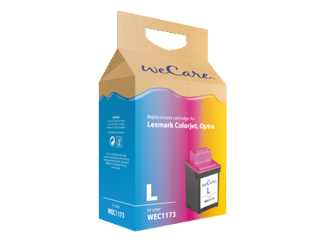 Inkcartridge wecare  lexmark 12a1980e 80 kleur
