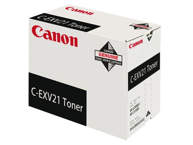 Tonercartridge canon c-exv21bk zwart