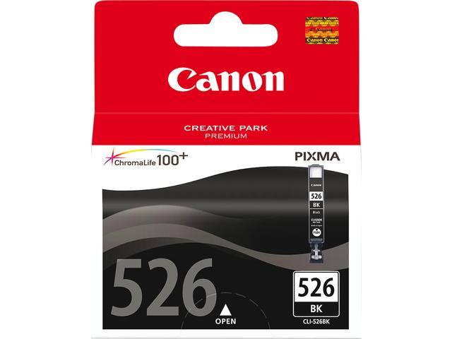 Inkcartridge canon cli-526bk zwart