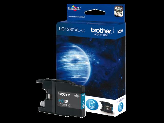 Inkcartridge brother lc-1280xlc blauw hc