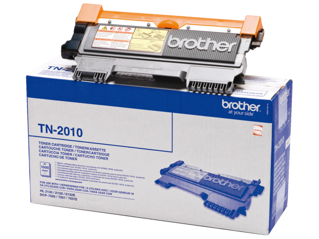 Tonercartridge brother tn-2010 zwart