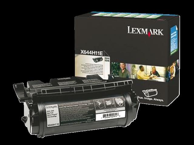 Tonercartridge lexmark x644h11e prebate zwart hc