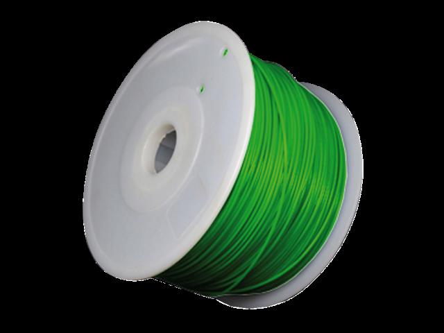 3d filament 1.75mm 1kg jasmijn groen