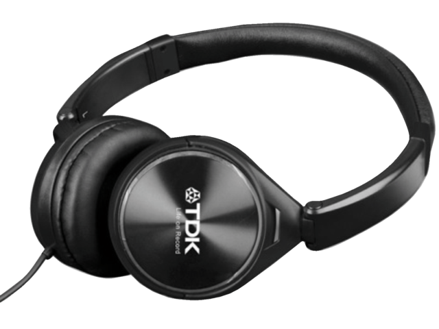 Headset tdk on ear st360 zwart