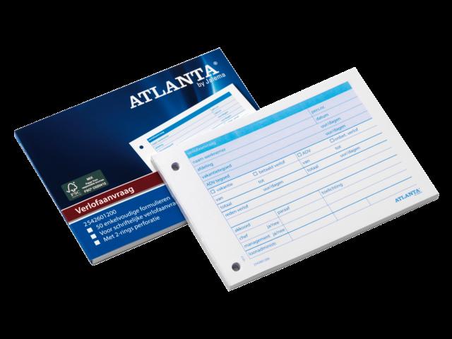 Verlofaanvraag atlanta a5426-012 a6 50vel